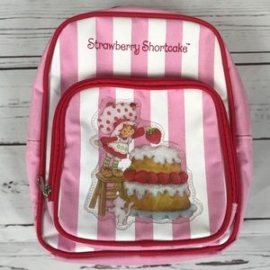 Strawberry Shortcake Mini Backpack EUC